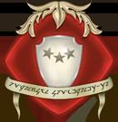 Embl�me de l'Ordre du Bouclier Blanc de la Guilde des Messagers, par Erana.