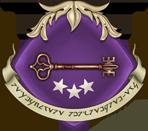 Emblème de l'Ordre du Rang de la Guilde des Messagers, par Erana.