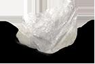 Bloc de pierre d'alun, dite ''pierre de lune''.