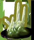 L'une des innombrables variations colorées du cristal de Musä.